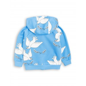 Rozpinana bluza z kapturem PEACE - Mini Rodini