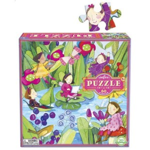Puzzle Fairies by the Pond - Wróżki nad Stawem 64 el. EEBOO